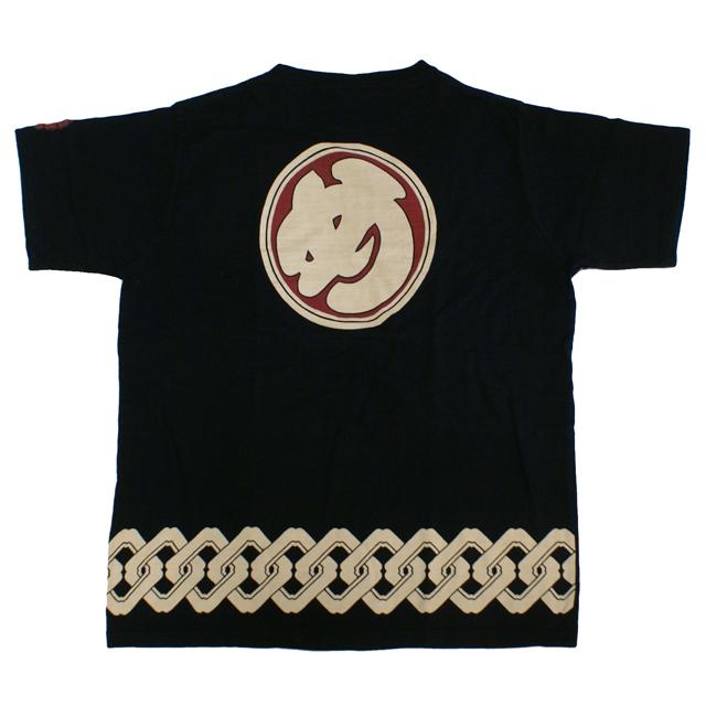 和柄Tシャツ め組