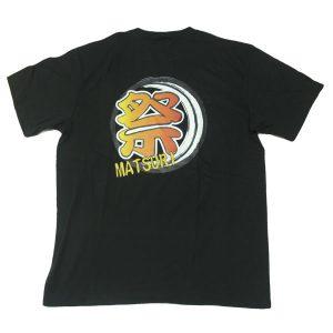 和柄Tシャツ「祭」