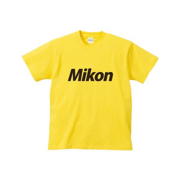 オリジナルパロディTシャツ 「Mikon/未婚」