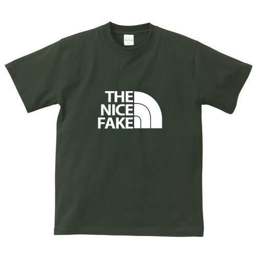 オリジナルパロディTシャツ「THE NICE FAKE」