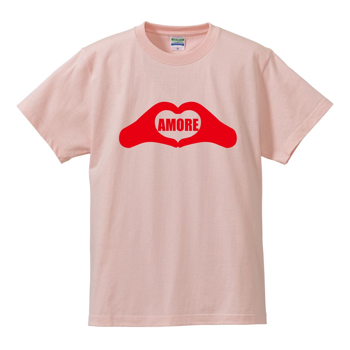 アモーレ Tシャツ ハート